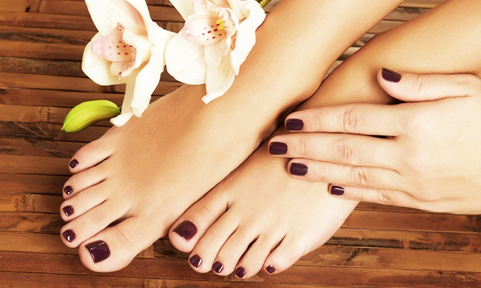 Luxury pedicure Helston